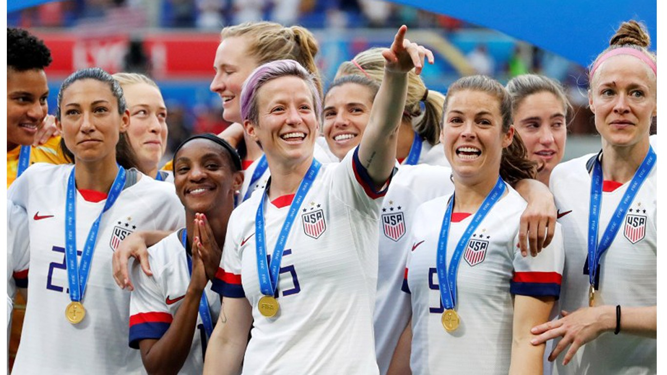 Support equal pay for the US Women Soccer Team!