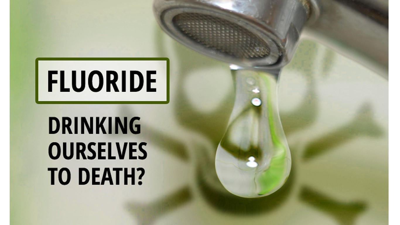Remove sodium fluoride from the drinking water in the USA