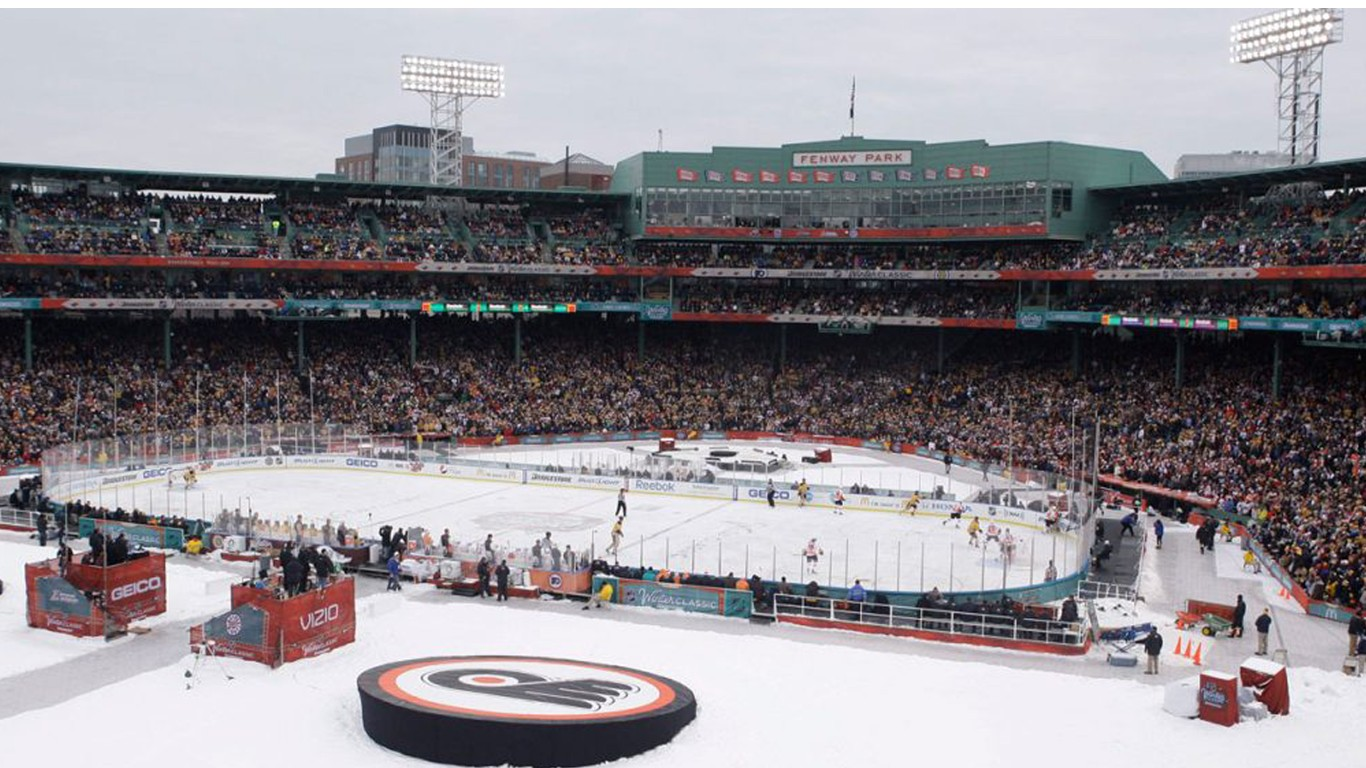 Support more outdoor NHL games starting 2021/2022 season!
