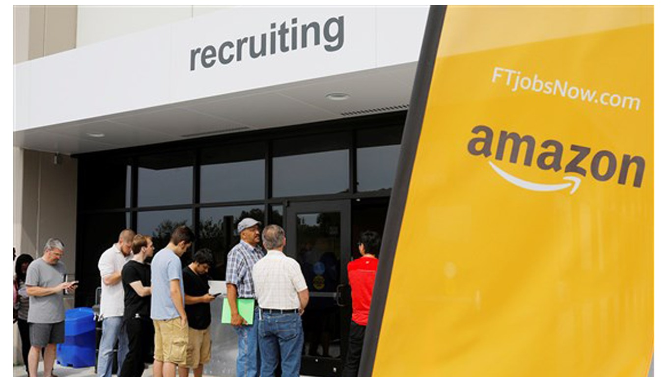 Urge Amazon to perform better employee background checks!