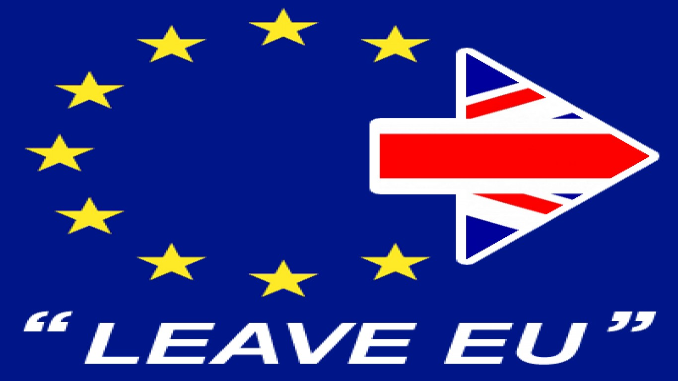 Leave the European union now